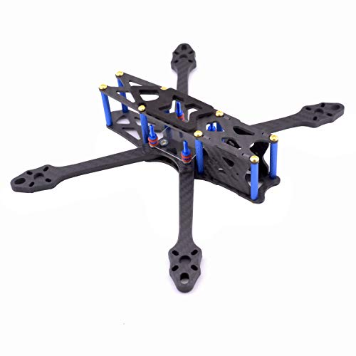 YoungRC Strech X5 V2 215mm FPV Racing Drone Frame Carbon Fiber Freestyle FPV Frame with 5.5mm Arm