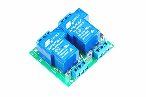 KNACRO DC 24V SLA-24VDC-SL-C DC 24V / AC 250V 30A dual relay module 30A two-way 2-way relay module optocoupler isolation - Dual Relay Module