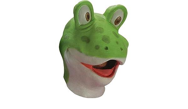 Carnival Toys Sapo de goma máscara de rana disfraz: Amazon.es: Juguetes y juegos