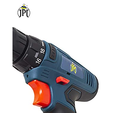 JPT HEAVY DUTY 12V CORDLESS DRILL/SCREW DRIVER WITH 2 BATTERIES 12