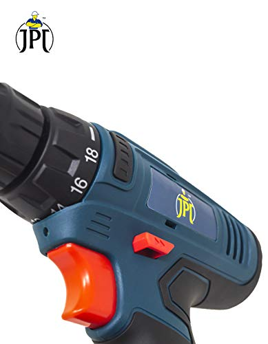 JPT HEAVY DUTY 12V CORDLESS DRILL/SCREW DRIVER WITH 2 BATTERIES 5