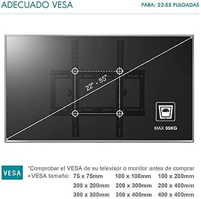 Famgizmo Soporte de Pared para TV de 22-55 Pulgadas (55-140cm ...