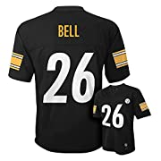 Leveon Bell Pittsburgh Steelers #26 Black NFL Infants Home Mid Tier Jersey (18 Months)
