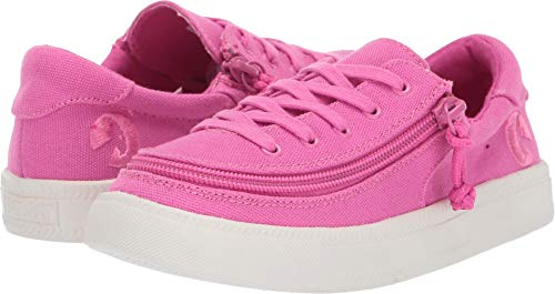 BILLY Footwear Kids Baby Girl's Classic Lace Low (Toddler/Little Kid/Big Kid) Pink Raspberry 4 M US Big -