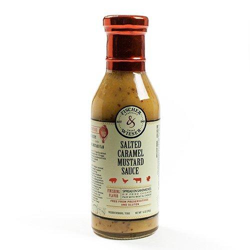 Fischer & Wieser Specialty Foods Salted Caramel Mustard Sauce, 14 Ounce (Sauce Salted Sweet)