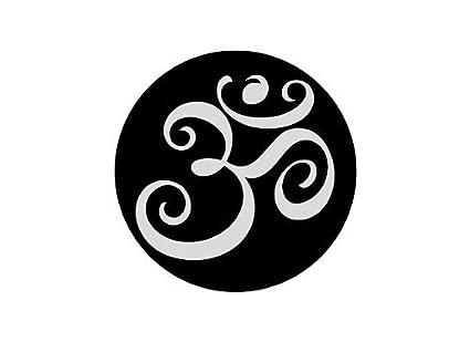 Amazon.com: Yoga Om Aum – Juego de tatuaje temporal Realista ...