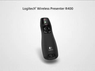 598a1659339 Logitech Wireless Presenter R400, Presentation Wireless Presenter with  Laser Pointer