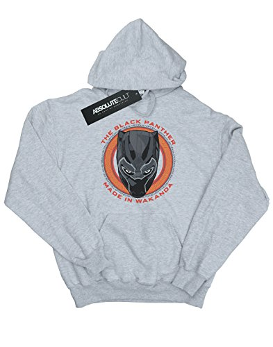 Mujer Black Gris Marvel Red Wakanda Capucha Made In Cuero Panther dUqwSZ