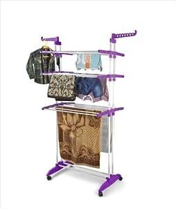 Bonita CD09-40PU Maximo Multi Function Clothes Dryer Stand In Purple