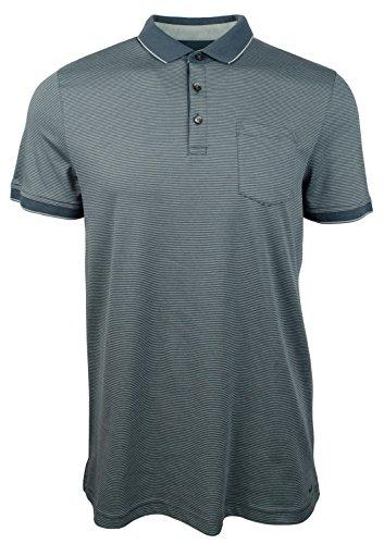 Michael Kors Men's Fine Striped Pocket Polo Shirt-K-XXL (Kors Shirts Micheal Mens)