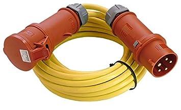 Starkstrom Verlangerungskabel 5m K35 N07v3v3 F 5g2 5 Cee Kabel Fur