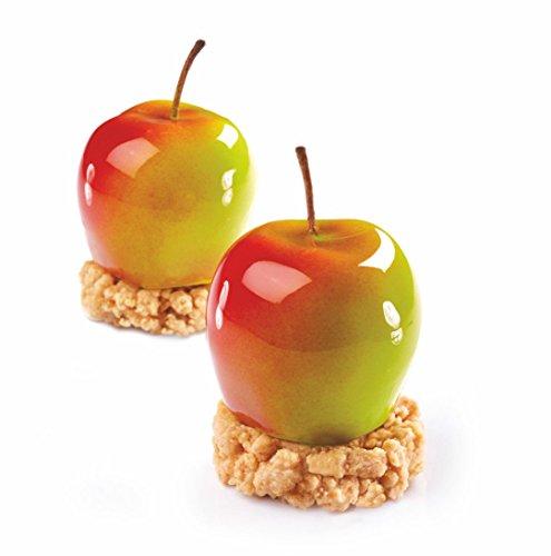 Pavoni Tutti Frutti Silicone Baking Mold Freezing Mould, Apple