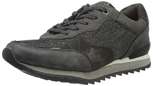 23714 Metal Silber Pewter Damen Sneaker TOZZI MARCO 959 EawOZHqT