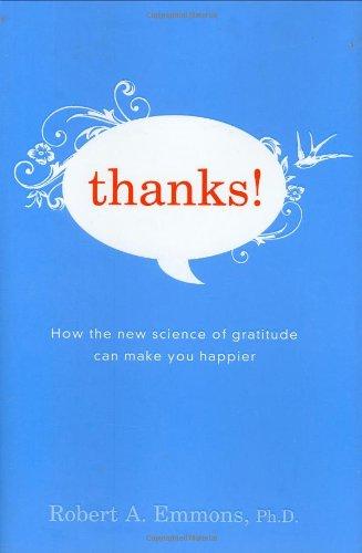 Thanks Science Gratitude Make Happier product image