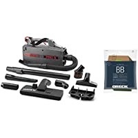 Oreck Commercial BB900DGR XL Pro 5 Super Compact Canister Vacuum, 30 Power Cord with 8 Genuine AK1BB8A Oreck Bags Bundle