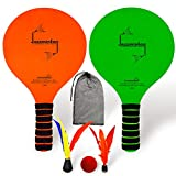 Funsparks Paddle Ball Game Jazzminton Beach for