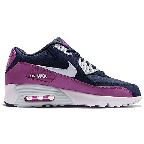 brand new 47e5a 763ea Nike Schuhe Air Max 90 Mesh (GS) Damen midnight navy-blue tint-