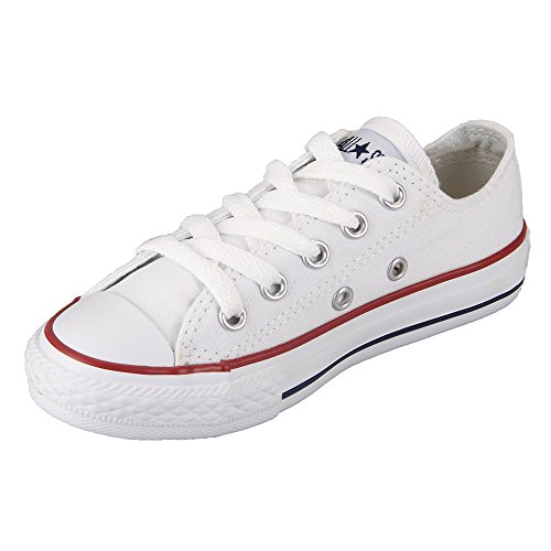 Converse C/T All Star OX Little Kids Fashion Sneakers White ()