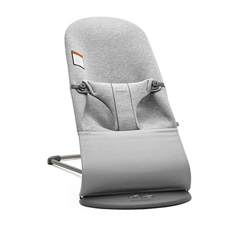 BabyBjorn Bouncer Bliss 3D Jersey - Light Grey