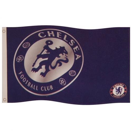 Chelsea Fc Flag (Chelsea Team React Flag)