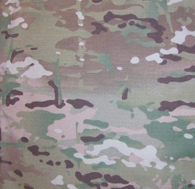 Nylon Coated Camouflage Fabric - 1000 Denier Coated MIL-DTL32439 T1, C3 Nylon Fabric - MultiCam Camo