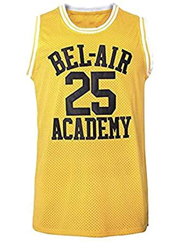 OKnown The Fresh Prince of Bel Air Basketball Jersey  25 Banks Academy  Jersey S- 5f1fd90e2