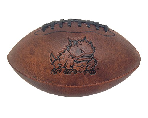 Game Master NCAA TCU Horned Frogs Vintage Throwback Football, ()