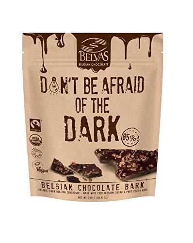 - Belvas Belgian Thins Organic Dark Chocolate, Coco Sugar Sweetened 10.6 oz