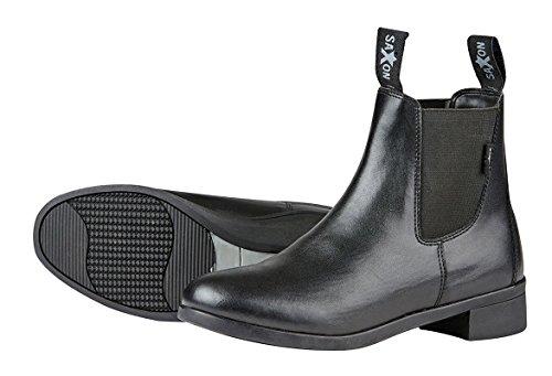 Sächsische syntovia Kinder reiten Jodhpur-Boots–Schwarz