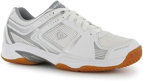 Dunlop Womens Ladies Squash Shoes White