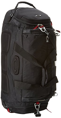 Oakley Men's Hot Tub Duffle Bag, Black, One Size by Oakley