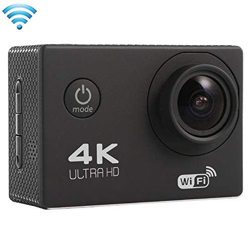(#33) F60 2.0 inch Screen 4K 170 Degrees Wide Angle WiFi Sport Action Camera Camcorder with Waterproof Housing Case, Support 64GB Micro SD Card(Black)