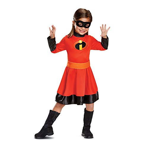 Disguise Violet Classic Toddler Child Costume, Red, (The Incredibles Halloween Costumes Infant)