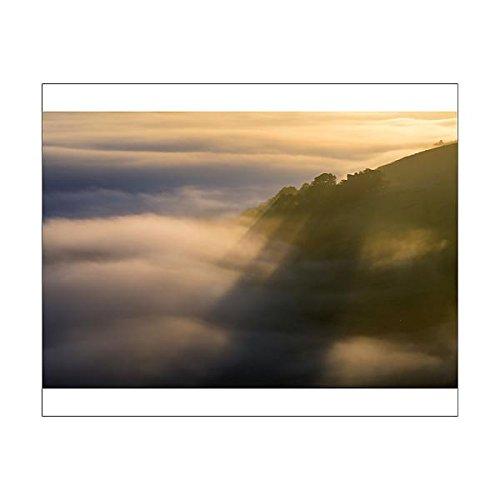 Media Storehouse 10x8 Print of Peveril Castle shadows above the golden fog at sunrise ()