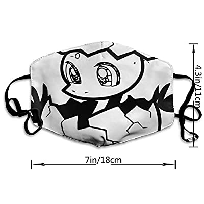 Face Mask A Baby Dinosaur from Egg Fabulous Cycling Half Face Earloop Face Mask for Man
