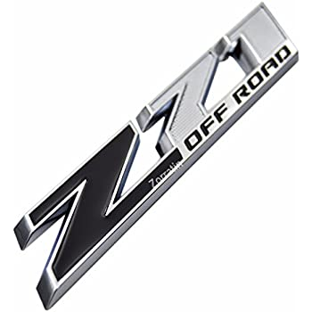 Amazon Yoaoo 1x Oem 5 Grille Z71 Off Road Emblems Badge 3d