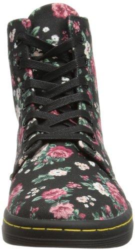 Martens Dr Chukka Boots Femme Hackney Noir ZZ7qwr