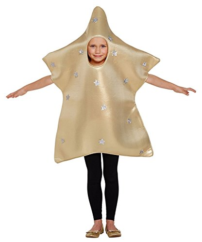 Child Christmas Nativity Star Fancy Dress Costume Age 4-6 -