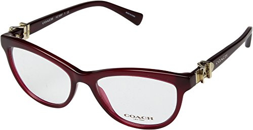 Coach Women's HC6087 Eyeglasses Burgundy - Sunglasses Coach Prescription