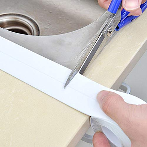 ouying1418 Self Adhesive Kitchen Waterproof Mildew Proof Adhesive Tape Sealing Sticker