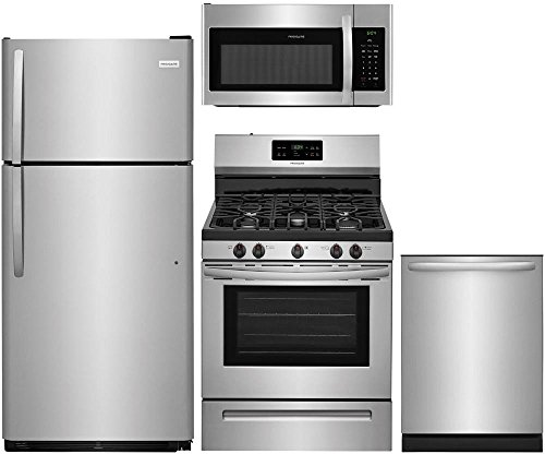 4-Piece Stainless Steel Kitchen Package with FFTR1821TS 30