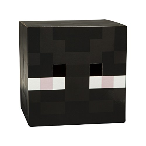 JINX Minecraft Enderman Head V2 Premium Costume Mask (Minecraft Costumes Kids)
