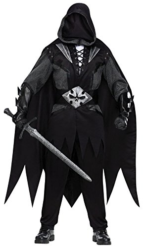 [Evil Knight Costume - Standard - Chest Size 33-45] (Mens Evil Knight Costumes)