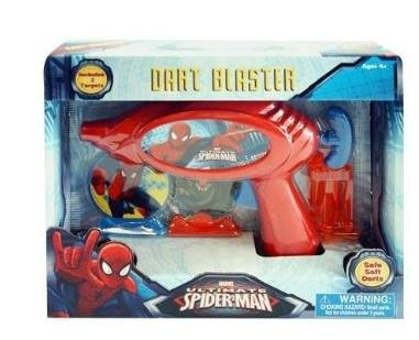 スパイダーマン SPIDER-MAN ダートガン 10549k 【アメコミ MARVEL グッズ インポート 子供 キッズ】の商品画像