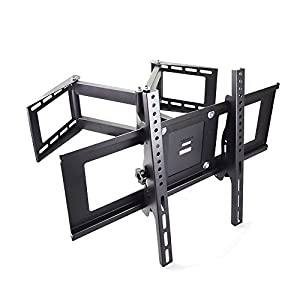tv wall corner mount bracket for samsung lg sony sharp electronics. Black Bedroom Furniture Sets. Home Design Ideas