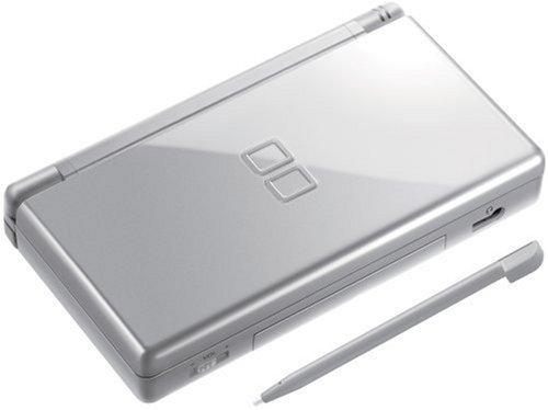 Nintendo DS Lite Consle with Top Spin 2 Bundle - Metallic Silver (Renewed)