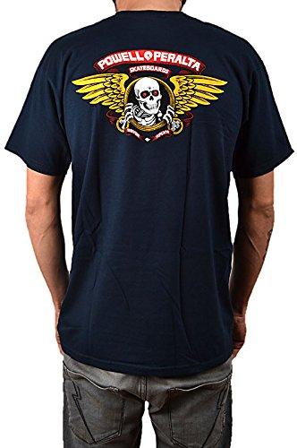 Powell Peralta Winged Ripper navy T-Shirt