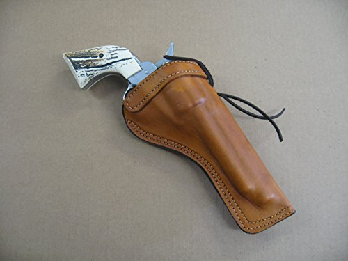 Azula Leather Cross Draw Holster for Ruger Wrangler 4.62