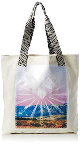 Volcom Shore Thang Tote Handtasche Damen, cartella Donna Multicolore (Art)