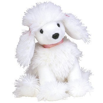 TY Beanie Baby - L'AMORE the Poodle Dog